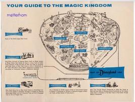 1961 Disneyland Gate Map POSTER 24 X 36 Inches Looks beautiful Nostalgia - $19.94