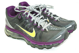 Nike Air Max Women's Gray Grape Mango Women's Athletic Shoes 476784 012 ... - $60.31