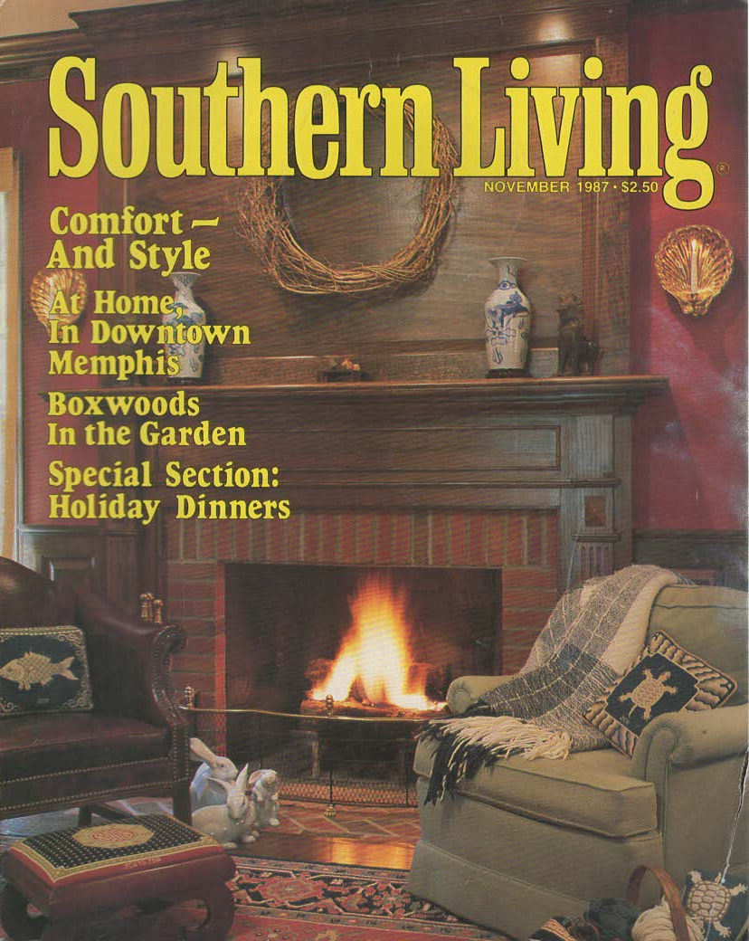 Primary image for Southern Living Magazine NOVEMBER 1987 A Special Section:Holiday Dinners