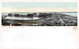 Panorama Grain Elevators Harbor Duluth Minnesota 1905c postcard - $6.93