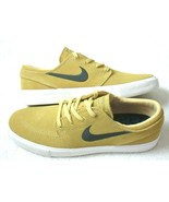 Nike SB Mens Zoom Janoski Suede Skate Shoes Celestial Gold Anthracite Si... - $78.39