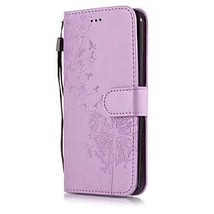 Gloryshop LG K10 2018 case,LG K30 Case,Embossed Dandelion PU Leather Wal... - $4.94