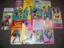 NEAL ADAMS SUPERMAN & FRIENDS 47 CARD LOT-BATMAN 1978 NM - $424.38