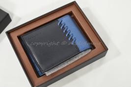 NEW Coach 75212B Box RNR Slim Bi-fold Wallet in Midnight/Denim Blue. Great Gift! - $95.00