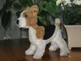 Steiff Treff Fox Terrier 88-90 078552 4140/30 - $139.90