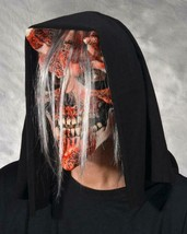 Skull Mask Whispers Bloody Horned decaying Flesh Halloween Costume Party... - $78.21 CAD