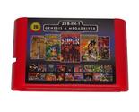 Super UFO 218 in 1 Red Game Cartridge for Sega Genesis - £14.62 GBP