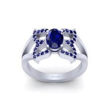 Symbol Of Change and Joy Butterfly Ring Solid 925 Sterling Silver Butterfly Ring - $134.99