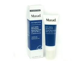 Murad Anti-Aging Acne Moisturizer Broad Spectrum SPF 30, 50ml/1.7oz New ... - $29.69