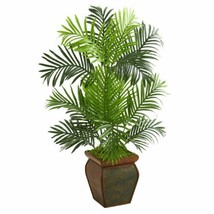 Luxury Multicolor 3' Paradise Palm Artificial Tree in Decorative Planter - 3 Ft. - $132.77
