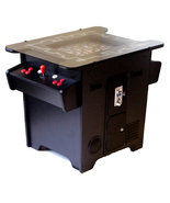 Arcade Factory Retro 80s Coin Op BLACK Cocktail Table LCD Game Machine R... - $1,495.00