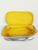 Elizabeth Arden New York Cosmetic Makeup Travel Bag Purse limited Chrome  - $11.07