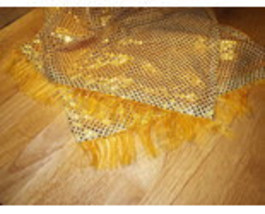 GOLDEN YELLOW BERET AND SCARF SET! image 4
