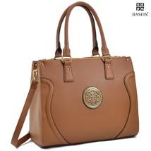 Dasein Pebbled Designer Satchel Handbag Briefca... - $53.98