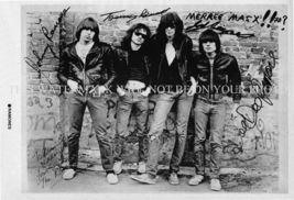 THE RAMONES SIGNED AUTOGRAPHED 6x9 RP PROMO PHOTO LEGENDARY CLASSIC YOUNG - $16.49