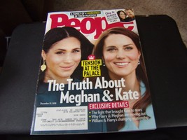 People Magazine - Meghan & Kate Cover - December 31, 2018 - $5.93