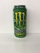 Monster Energy Drink 16oz M-100 GHOST Sealed Can.1 Single Full Can - $24.99