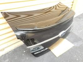 13-18 Ford Taurus SEL Trunk Lid W/Camera & Spoiler image 2