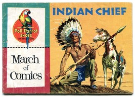 March of Comics #140 1956-Indian Chief- Poll Parrot promo comic - $44.14