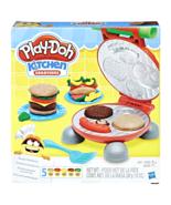 Play Doh Burger Barbecue Set Small Playset Playdough Toys Kids Fun Facto... - $8.83