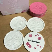 Starbucks Limited Edition Sakura Coaster Set Bland New - $47.05
