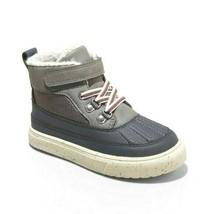 Cat & Jack Boys Toddler Size 9 Gray Greyson Winter Fashion Snow Boots NWT