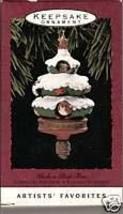 Peek a Boo Tree Ornament 1993 Movement by Hallmark - $4.95
