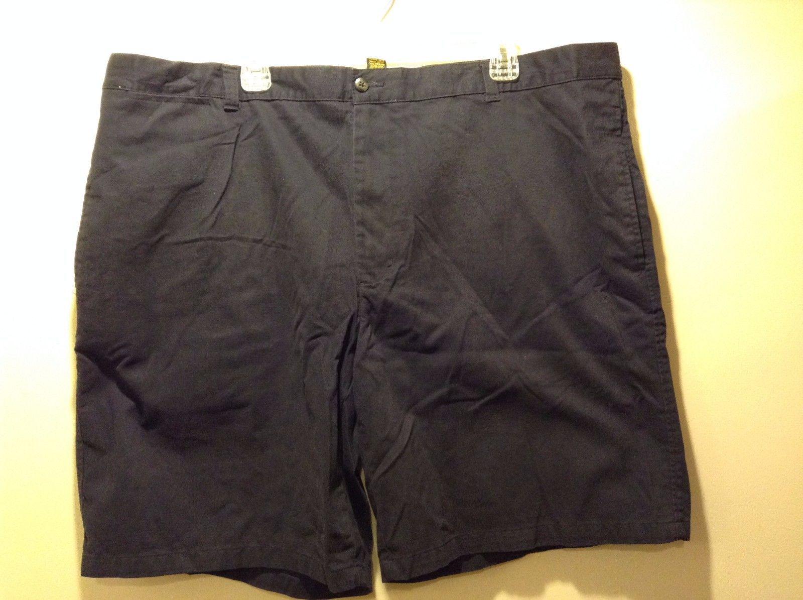 Navy Blue 100% Cotton Shorts by Club Room Sz 44