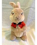 Frederick Warne Columbia Peter Rabbit movie 2018 plush FLOPSY bunny red ... - $7.12