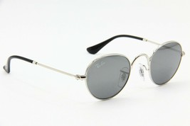 NEW RAY-BAN JUNIOR RJ 9537S 212/6G SILVER AUTHENTIC FRAMES KIDS SUNGLASS... - $43.24