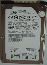 """NEW Hitachi HTS541212H9AT00 120GB IDE 44PIN 2.5"""" Hard Drive Free USA Shipping"""