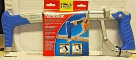 Nicholson 80965B Cushion Grip High Tension Hacksaw Blue - $12.87