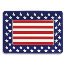 Patriotic 10 x 14 Plastic Tray/Case of 12 - $47.53