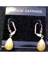 Tear Drop Earring -Pierced Ears - $3.00