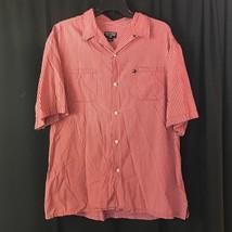 Mens Polo Ralph Lauren Plaid Checks Pony Logo S/S Button Down Shirt L Arge - $12.51