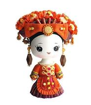 Panda Superstore Handmade Wooden Chinese Minority Doll Special Gift 8.7'... - $29.48