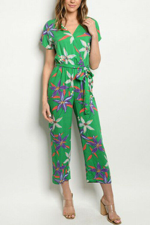 Women Flower print Jumpsuit
