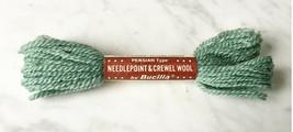 Vintage Bucilla Persian Wool Needlepoint Crewel Yarn-1 Skein Green #46 - $2.38