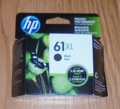 Genuine HP 61XL High Yield Black Ink Cartridge 2022 New CH563WN   61 XL - $30.84