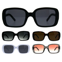 Mod Women Rectangular Plastic Retro Sunglasses - $9.95
