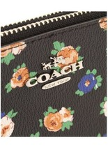 NWT Coach Lyla Crossbody Tea Rose Floral Print Coated Canvas F57628 Black Bags  image 2