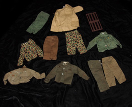 GI Joe G.I. Joe Outfit Lot Vintage For 12 Inch Soldier Dolls Hasbro Marx... - $32.99