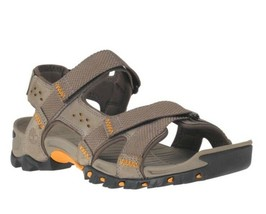 TIMBERLAND MEN'S ELDRIDGE LEATHER SANDALS STYLE 5824A065 SIZE 11 - $46.79
