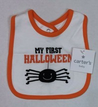 Carter's Halloween Bib My First Halloween Spider Bib for Boy or Girl - $9.00