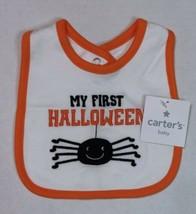 Carter's Halloween Bib My First Halloween Spider Bib for Boy or Girl - $9.00