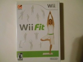 Wii Fit (Nintendo Wii, 2008) in Great condition with manual  - $15.83