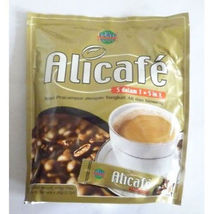 NEW ALICAFE Premix Coffee TONGKAT ALI GINSENG Instant 5 in 1 Pack 20 Sac... - $15.00