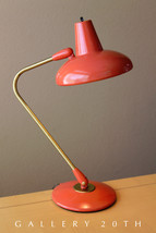 RARE MID CENTURY MODERN ATOMIC DAZOR SAUCER LAMP! CORAL! EAMES THURSTON ... - £1,177.93 GBP