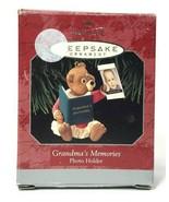 Vtg Hallmark Keepsake Ornament Handcrafted 1998 Grandma's Memories Photo Holder - $4.99