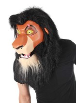 Scar Mouth Mover Mask Disney Lion King Fancy Dress Halloween Costume Acc... - $80.53